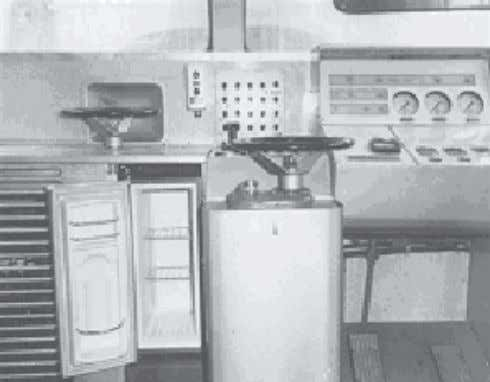a. b. Fig. 3a-c. Project 1. Transport vortex refrigerators of the first generation a. TVH-14
