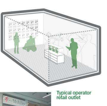 Operator Retail Stores – Excellent signal essential for demonstrations – Location inside shopping mall may have