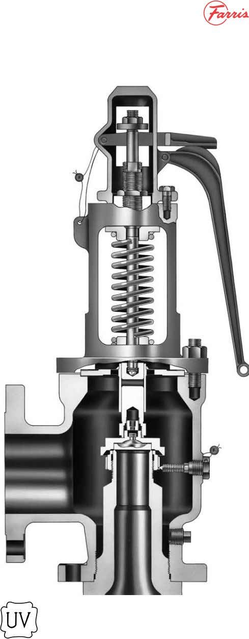 2600S Series Exposed Spring The 2600S Series safety valves with exposed springs represent an enhancement