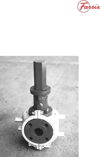 Down Ring Adjustment For Set Pressure Test Figure No. 9A Steam Jacketed Body Figure No. 8