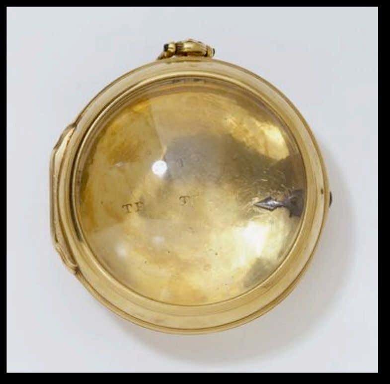 English Gold Cased Watch byThomas Potts of London (Victoria & Albert) c. 1740