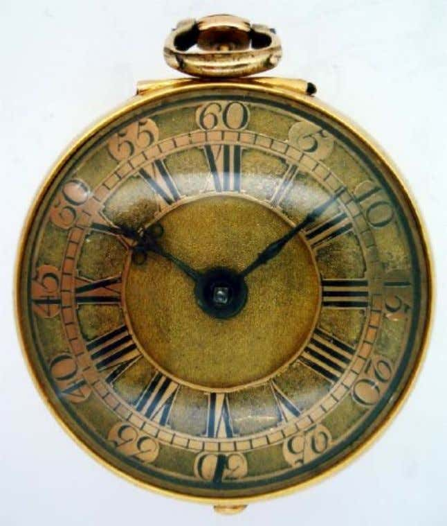 English Gold Pair Cased Watch with Verge Movement by Bostock Toller of London 1749 (Cogs