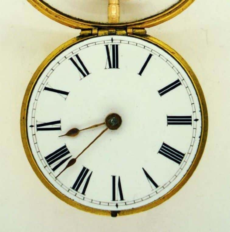 English Gold Repousse Pair Cased Watch with Verge Movement by John Everett c. 1720 (Cogs