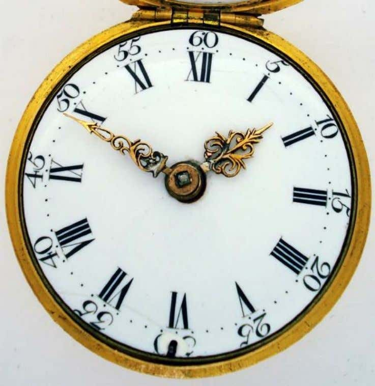 English Gold Repousse Pair Cased Watch with Verge Movement by James Leicester of London c.