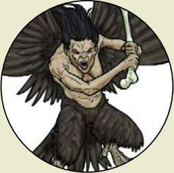 (though not always!), these evolved goblinkin have turned Harpy Monster Rating : 245 (typically found on