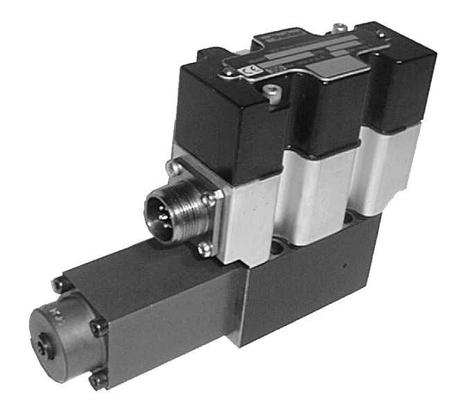 Serie RE Proportional-Druck- begrenzungsventile Parker Hannifin GmbH Hydraulic Controls Division