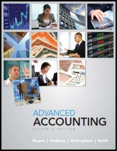 Chapter 8 Consolidations – Changes in Ownership Interests to accompany Advanced Accounting, 11th edition by Beams,