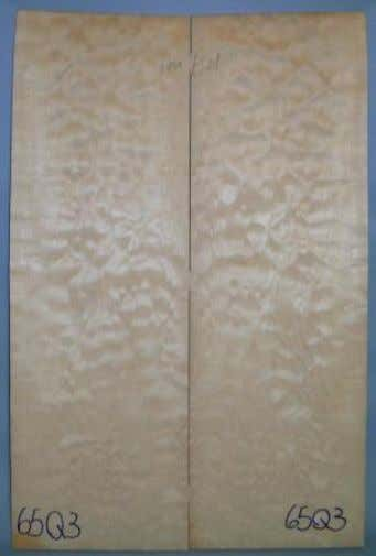 Ref.: 65Q3 Maple Quilted padrão AAA 560x375x9mm R$270,00 Ref.: 66F3 Maple Flamed padrão AAA 580x385x18mm