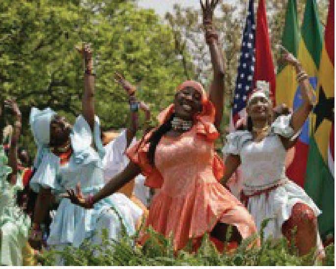 4 | From Timbuktu to the Mississippi Delta West African Dancers at the White House Young