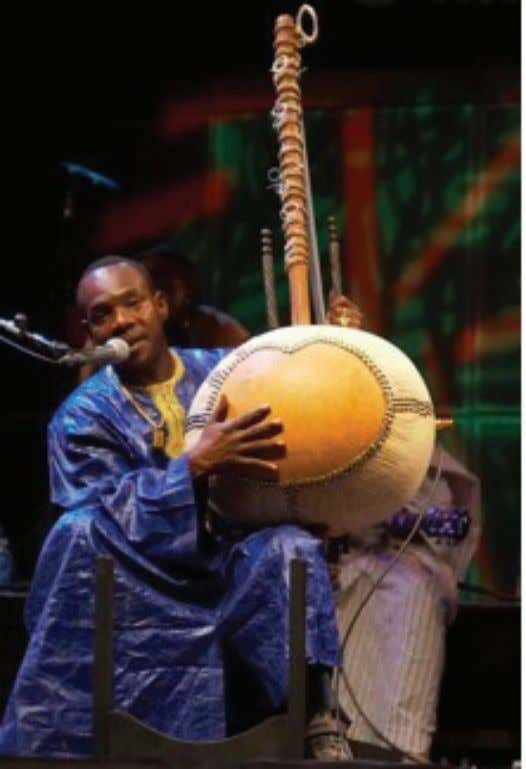 12 | From Timbuktu to the Mississippi Delta Toumani Diabate, current torch holder of the Mande