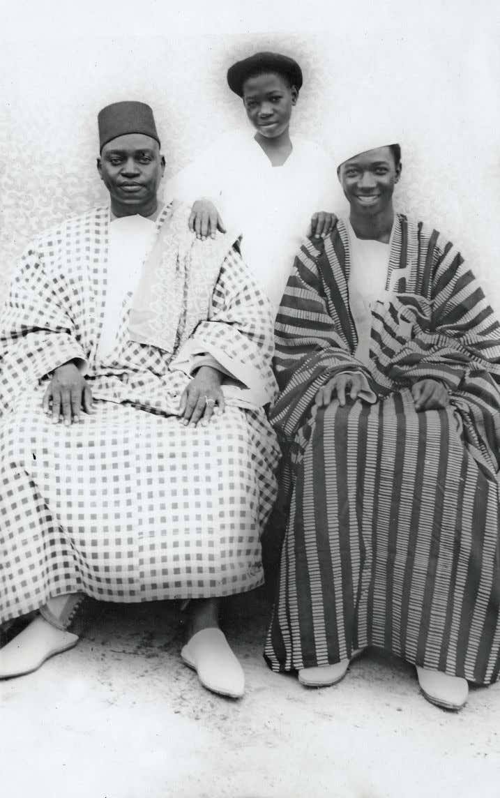 Grandfather Mamadou Lamine Thiam, Administrator during colonial times in Senegal, Patriarch of the Thiam Clan