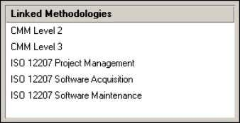 base and plug-in methodologies, choose Methodology, Methodology Links. Oracle Primavera P6 - Methodology Management