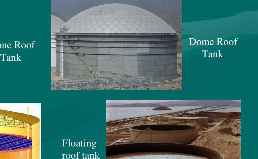Dome Roof Tank Tank Floating roof tank
