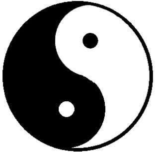 the balance of life The yin and yang symbol represents a perfect balance of male