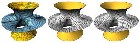- Surface Parameterization using Branched Coverings Figure 7: The Costa surface parameterized with different