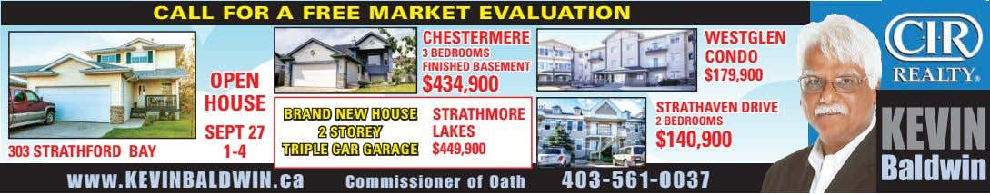 CALL FOR A FREE MARKET EVALUATION CHESTERMERE WESTGLEN 3 BEDROOMS CONDO FINISHED BASEMENT $179,900 OPEN