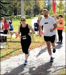 "approved, the project may be dead any- way,"" said Koester. Run like Terry Fox Community runners"