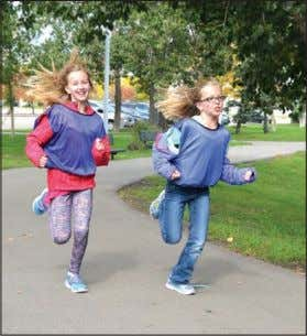 worthwhile participa- tion in the run. Sharon McLeay Photos Running for a cure Sacred Heart Acad-