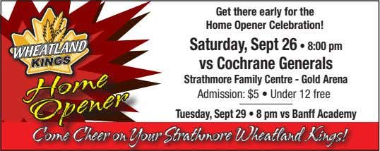 Get there early for the Home Opener Celebration! Saturday, Sept 26 • 8:00 pm vs