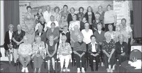 Page 8 • Strathmore TIMES • September 25, 2015 G8 for Legion Ladies Auxiliary presidents The
