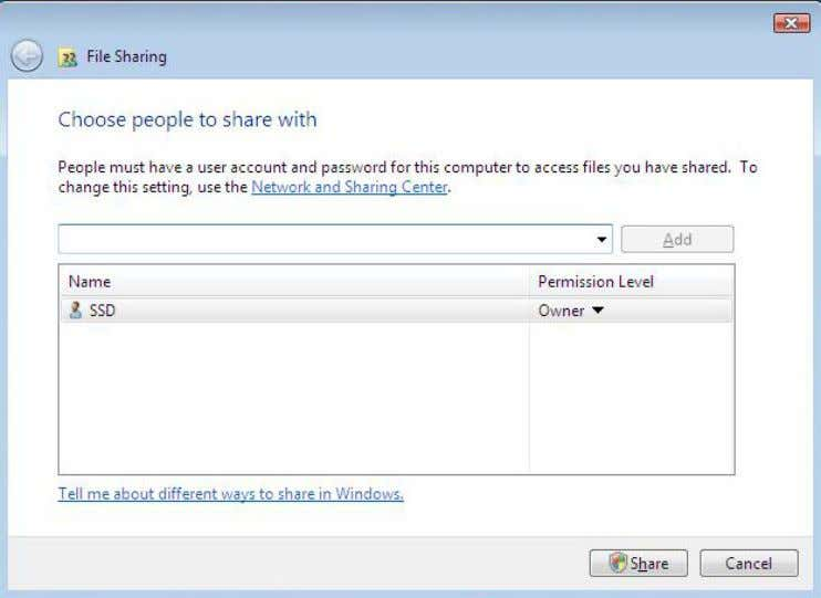 a user to change files or folders or create new files or folders, select Co-owner as