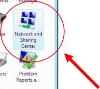 1. Go into Control Panel 2. Select Network and Sharing Center Windows Vista Ultimate Windows 7