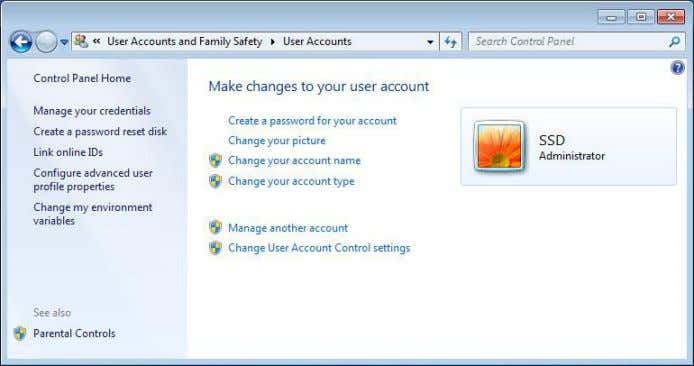 see: • Change your password • Remove your password Create a Folder and select Everyon e
