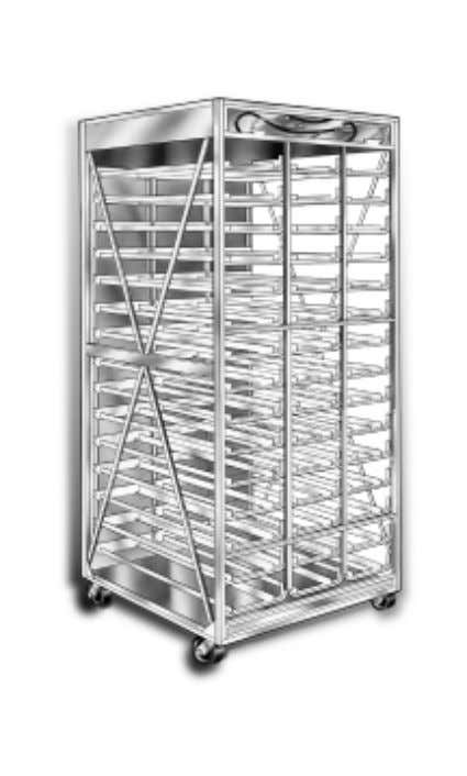 3-Column Incubator Rack Assembly Instruction and Parts TM A member of the Marmon Group of companies
