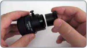 firmly into place and replace the eyepiece in the tube. 4. You can now align the