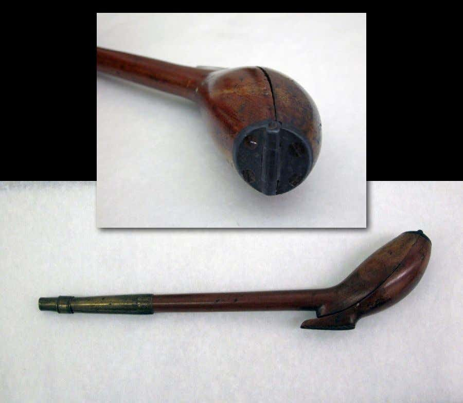 English Boxwood, Brass & Pewter Pipe Case c. 1690 - 1710 (Victoria & Albert)