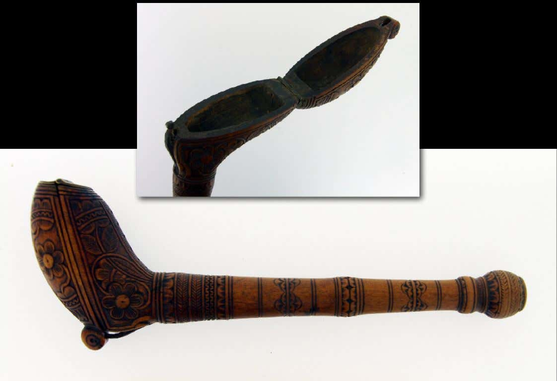 Dutch Boxwood Pipe Case 17th Century (The Curiosity Shop)