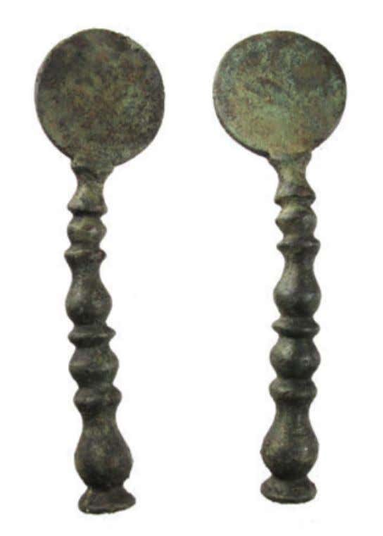 Worcestershire Copper Alloy Pipe Tamper 17th Century (Private Collection - Portable Antiques Scheme)