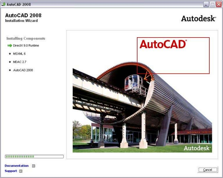 AUTOCAD 2008 PREVIEW GUIDE Figure 2. Product Installation. The Create Deployments option enables you to create