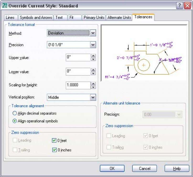 AUTOCAD 2008 PREVIEW GUIDE Figure 62. Dimension Tolerance Alignment Working with Table Data AutoCAD 2008 offers