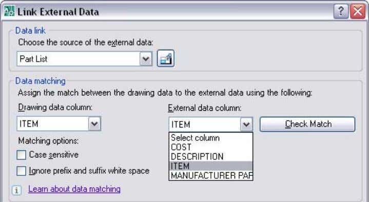file. In my example, the item number would be the key column. Figure . Data extraction