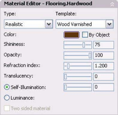 AUTOCAD 2008 PREVIEW GUIDE Figure 75. Material Editor Panel. The Maps panel enables you apply diffuse,