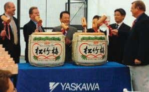 ● www.controleng.com CTL1301_News_V6msFINAL.indd 26 Executives from Yaskawa America, Inc. and Yaskawa Electric