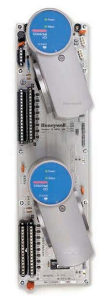 to work with its I/A series 200 platform. Courtesy: Invensys Honeywell's Universal I/O will work with