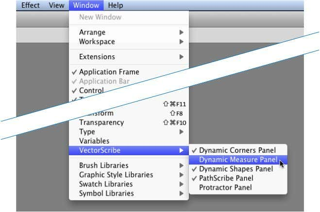 arranged with standard Adobe Illustrator panels as normal. Toolbox tool buttons VectorScribe adds 4 new tools