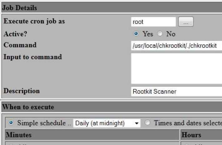 "new scheduled cron job"" link. Fill out the form like this. You will execute that job"
