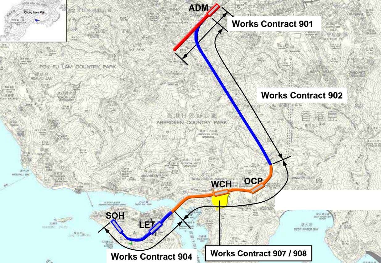 ADM Works Contract 901 Works Contract 902 OCP WCH SOH LET Works Contract 907 /