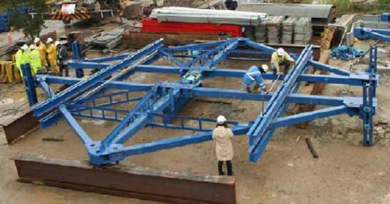 webs System capacity: 180 tons MTR Corporation Limited Load test could be carried out prior to