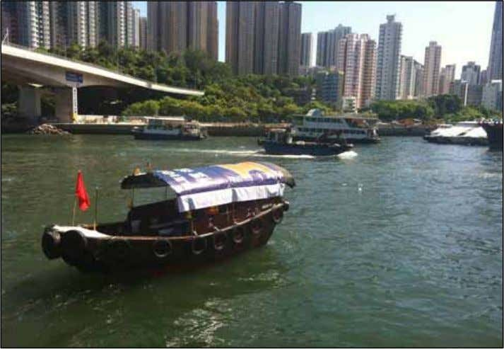 notice to a ll marine users about the construction works 4. Use of guard boat MTR