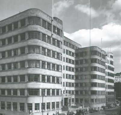 Figure 1: Government Departmental Building (15 Stout Street) designed by architect John Mair, (Left: Gordon