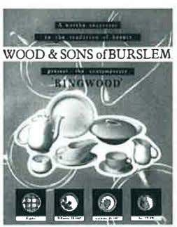 "�t: ·�· -� -· // . .,. -- "" WOOD & SONS ofBURSLEM"