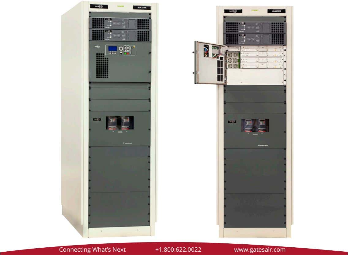 Connecting What's Next +1.800.622.0022 www.gatesair.com