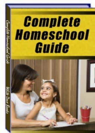 The Complete Homeschool Guide by Isabel Allen Statement of Rights You may sell this book for