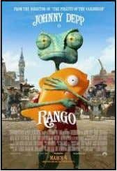 What's Playing at the Movies Movie: Rango (March 4) Genre: Animated comedy Rating: G Cast: