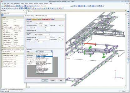 addition, node point renumbering, spring data application. PASS/START-PROF can import piping models ready for analysis