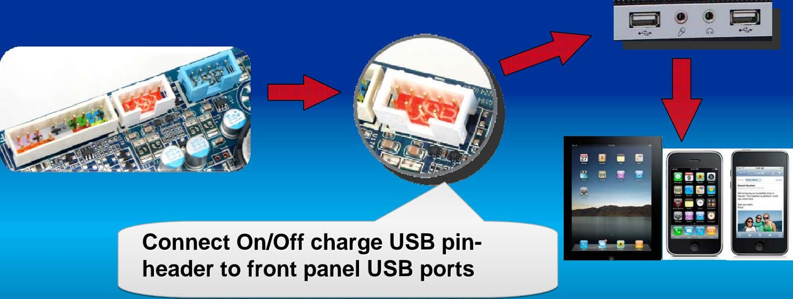 ConnectConnect Connect On/OffOn/Off On/Off chargecharge charge USBUSB USB pinpin-- pin- headerheader header toto to
